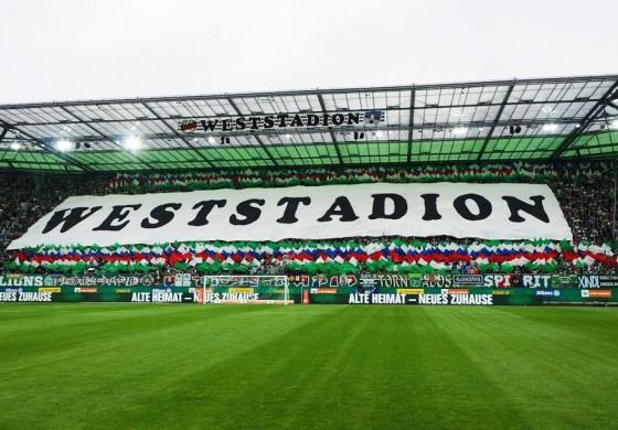 Un nouveau stade pensé pour les Ultras du Rapid Vienne