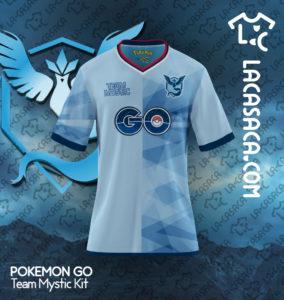 Les maillots de football, façon Pokemon GO
