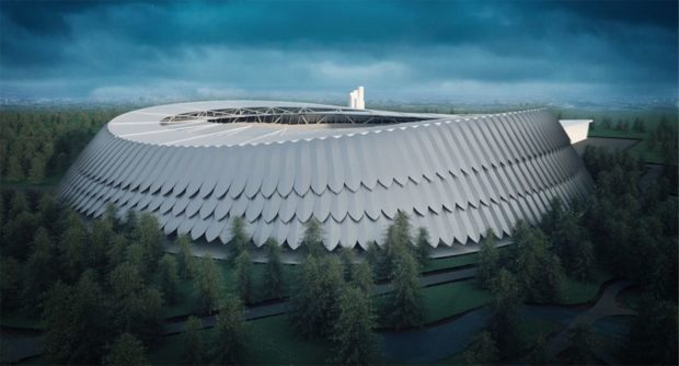 Dessinez le prochain stade du Polonia Varsovie