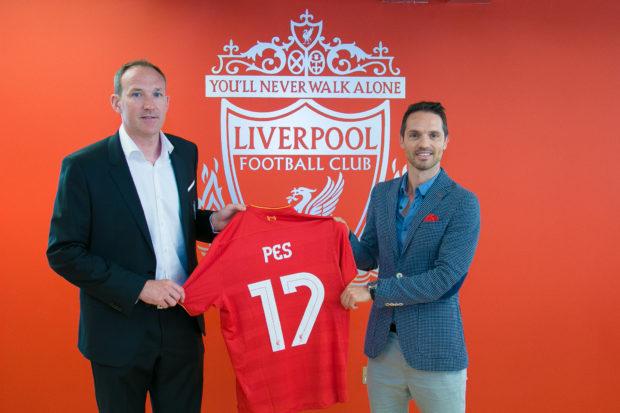 Konami, partenaire officiel de Liverpool