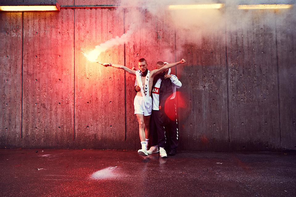 Hummel Hive propose une collection inspirée par le milieu ultras