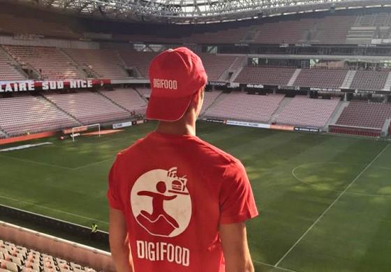 Digifood répond aux besoins des supporters présents dans les stades