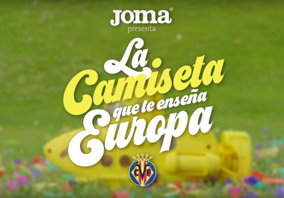 Villarreal et Joma ont sorti un maillot 2016/17 interactif, grâce à Shazam