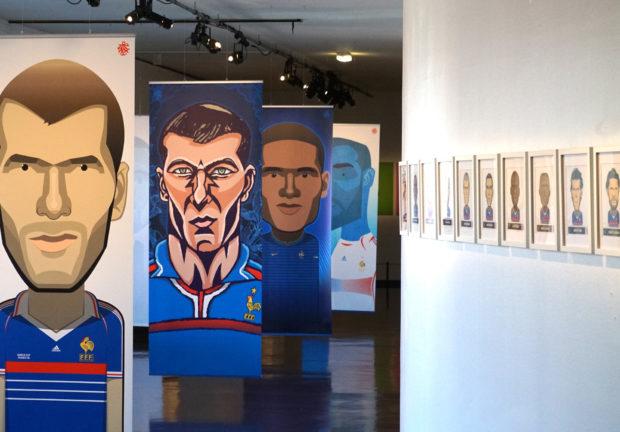 Le travail colossal de Jerzovskaja pour illustrer tous les joueurs de foot