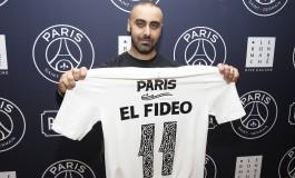 Le PSG s'est installé au Bon Marché pour présenter son maillot Third
