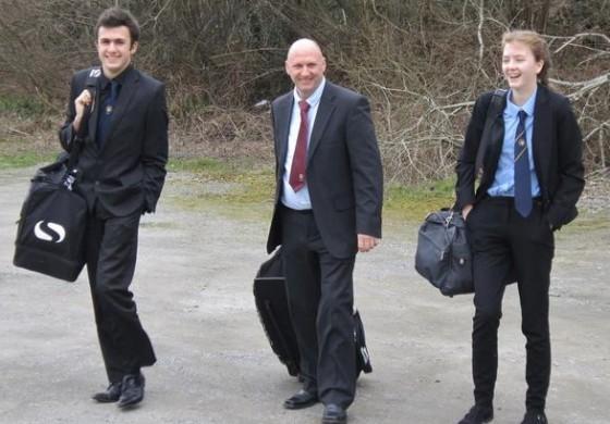 Au Pays de Galles, le trio arbitral est de la même famille