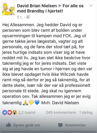 Au Danemark, il sauve la vie d'un enfant en ratant complètement sa frappe