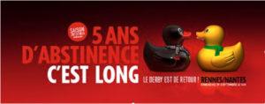 Derby Nantes / Rennes : je t'aime, moi non-plus