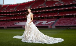 Le Benfica lance sa propre collection... de robes de mariage