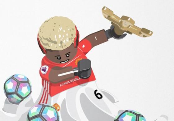L'artiste Eldejo mixe des Lego avec des joueurs de foot