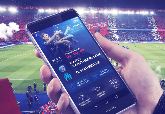 Stadium App, l'application fan experience du PSG