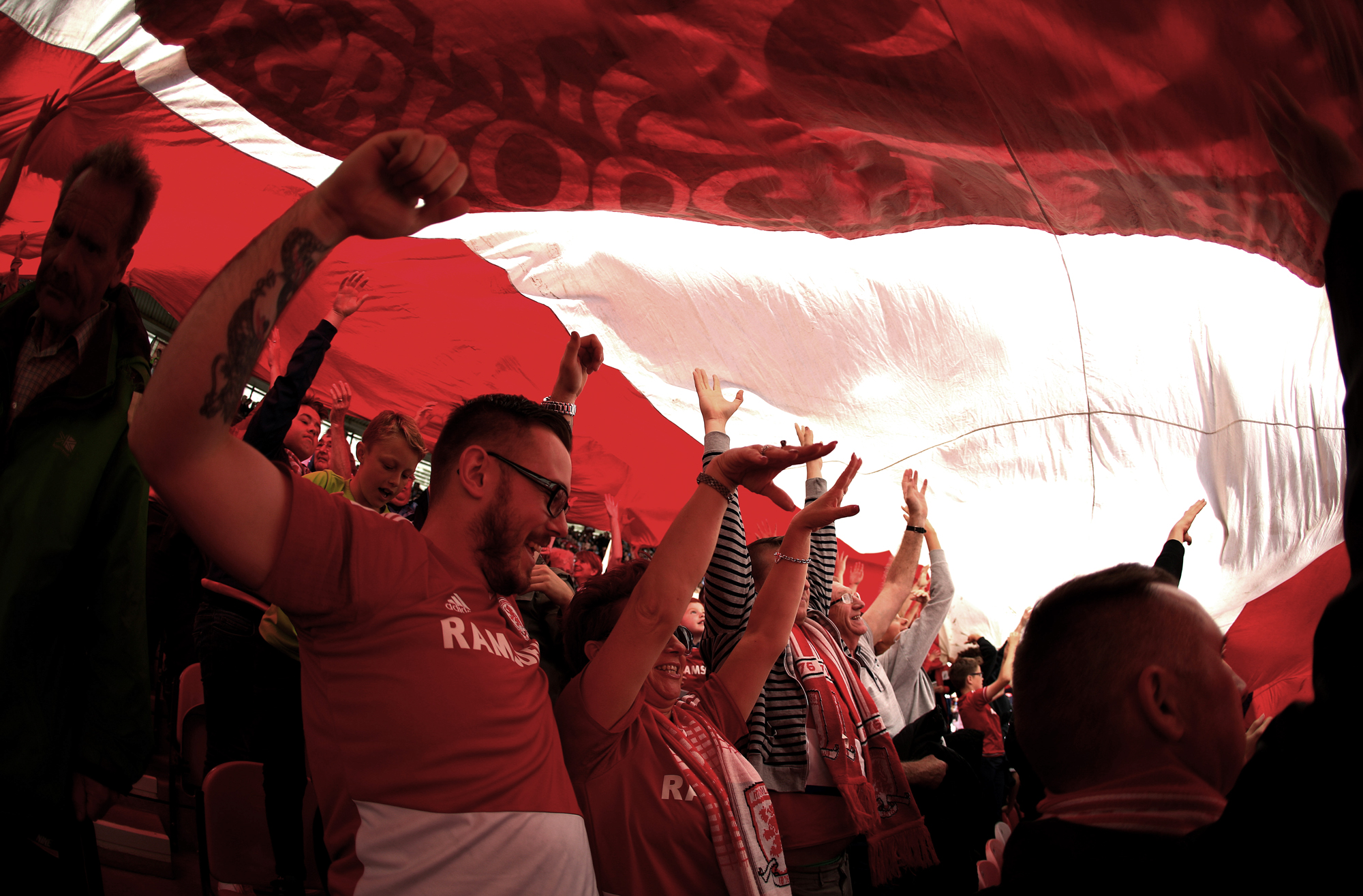 Middlesbrough FC : une passion waterproof