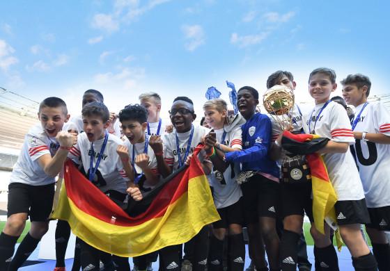 L'Allemagne a remporté la 17e édition de la Danone Nations Cup