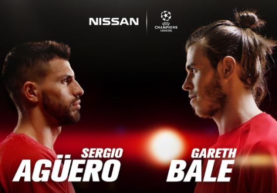 Nissan dévoile ses nouveaux ambassadeurs : Sergio Agüero et Gareth Bale