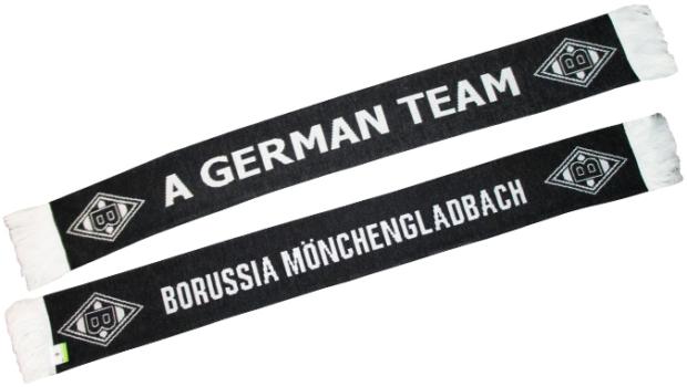 """'Gladbach lance une nouvelle écharpe parodique """"A German Team"""""""