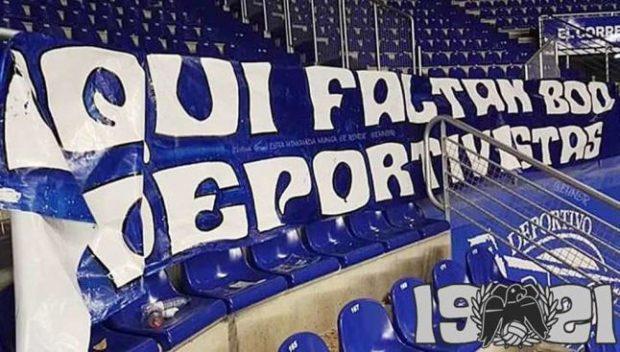 Les supporters espagnols contre la possible réélection de Javier Tebas