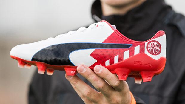 Griezmann présente le Derby Fever Pack de Puma pour le derby madrilène