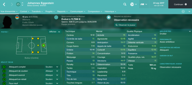 Football Manager 2017 : les pépites et jeunes joueurs à recruter