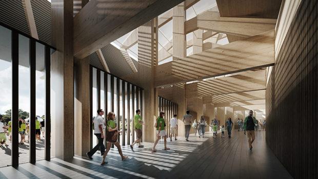 Forest Green Rovers va construire un stade éco-responsable entièrement en bois