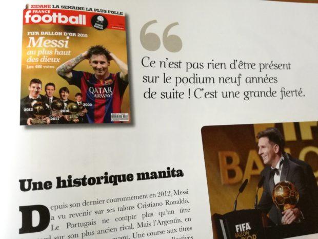 Avant Ronaldo et Messi, le Ballon d'Or leur appartenait
