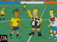 Emilio Sansolini reproduit les grandes équipes façon Simpson