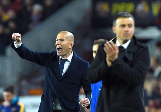 Clasico : duel entre Luis Enrique et Zinédine Zidane