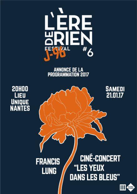 """Ciné-concert """"Les yeux dans les Bleus"""" à Nantes pour l'Ère de rien"""