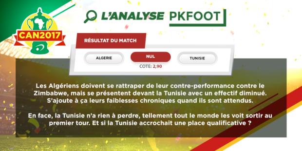 Algérie / Tunisie : quel vainqueur dans le derby le plus bouillant de la CAN ?