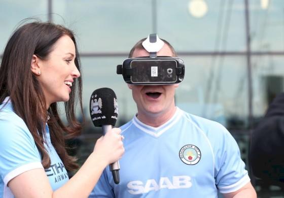 Manchester City se lance dans la réalité virtuelle