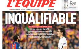 Barça-PSG : j'préfère partir plutôt que de lire ça