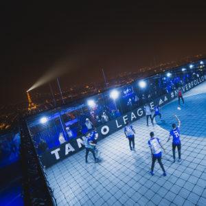 Nous étions sur la Tour Montparnasse pour la Tango League d'adidas