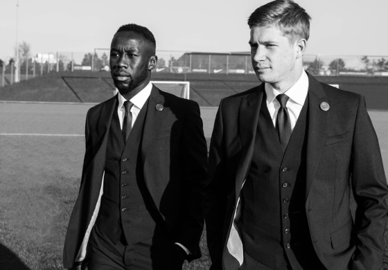 Les joueurs de Manchester City habillés par Dsquared2