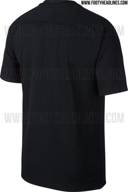Nike va dévoiler ce 3e maillot (noir) de l'Equipe de France