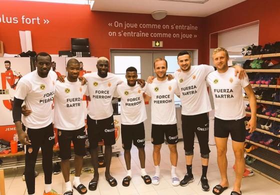 L'UEFA a refusé que Monaco rende hommage à Bartra