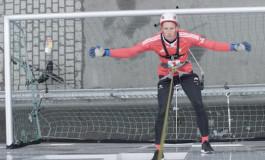 En Norvège, on tire les penalties le long d'un immeuble