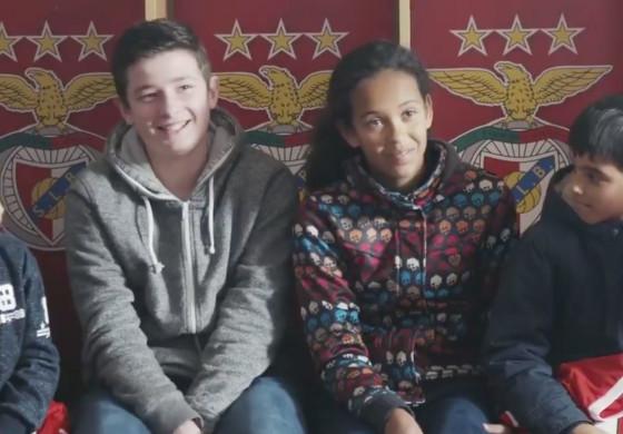 Au Benfica, les élèves les plus méritants peuvent s'entraîner avec les pros