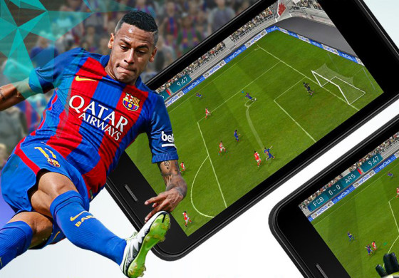 PES 2017 arrive sur mobile