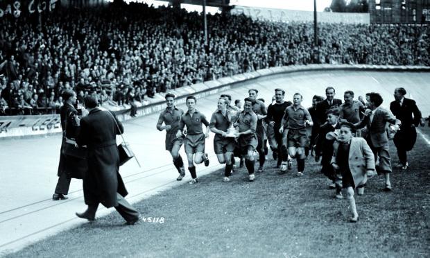 Expo photo spéciale pour les 100 ans de la Coupe de France