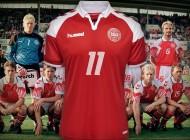 Hummel sort un maillot spécial du Danemark pour les 25 ans de leur titre européen
