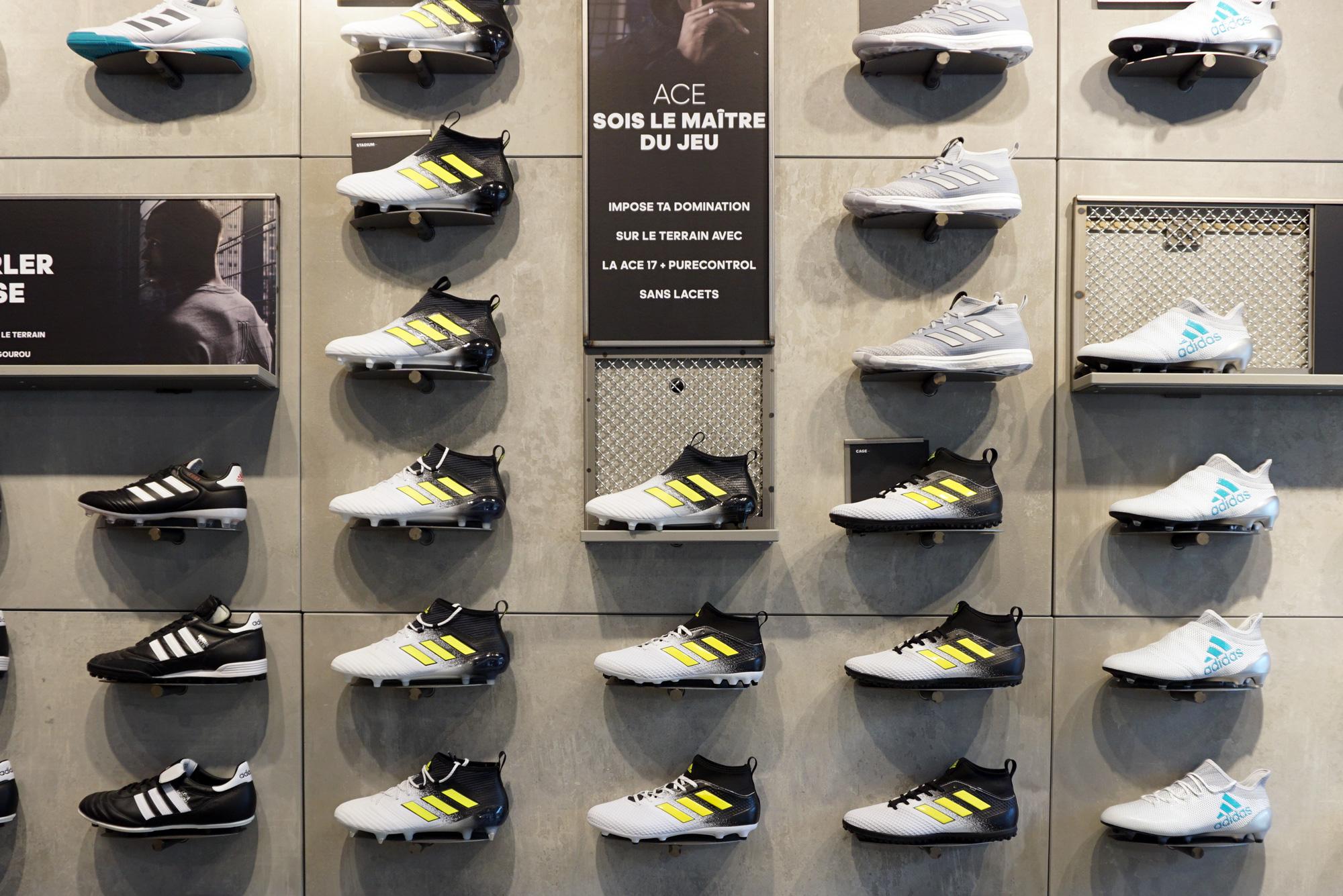 Visité Le Nouveau J'ai Adidas Clichés À Store Mes Football ParisVoici EoQrdCBWxe