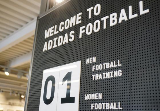 J'ai visité le nouveau adidas Football Store à Paris, voici mes clichés