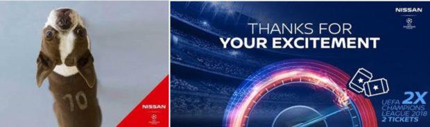 Nissan prépare une soirée unique en amont de la finale de l'UEFA Champions League