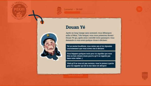 """Le jeu """"Les Transferts de Pékin"""" ou l'épopée chinoise"""
