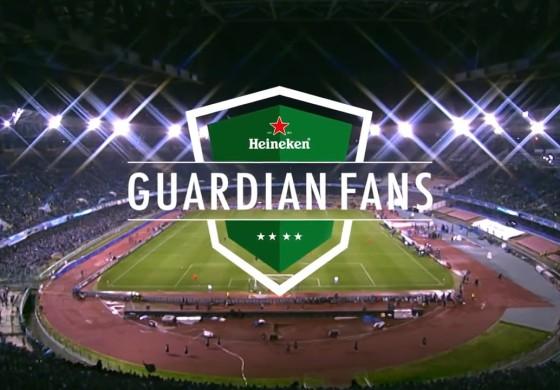 """Heineken """"Guardian Fans"""" a fait surveiller le domicile des joueurs... par les supporters"""