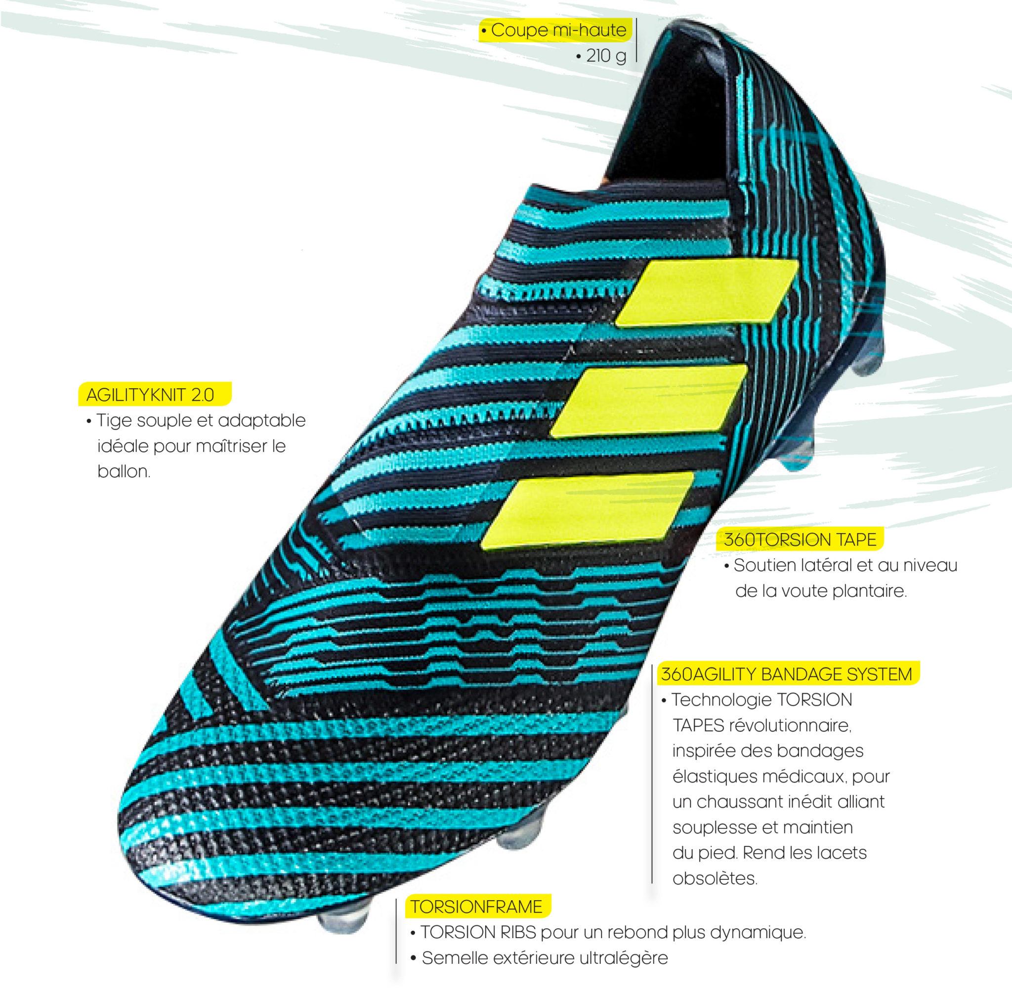 """Un nouveau coloris """"Ocean Storm"""" pour la Nemeziz d'adidas"""