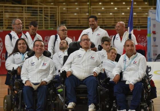 """Equipe de France de foot-fauteuil : """"nous sommes l'équipe avec le plus beau jeu"""""""