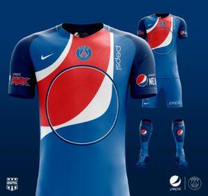 Et si les marques prenaient possession des maillots de foot ?