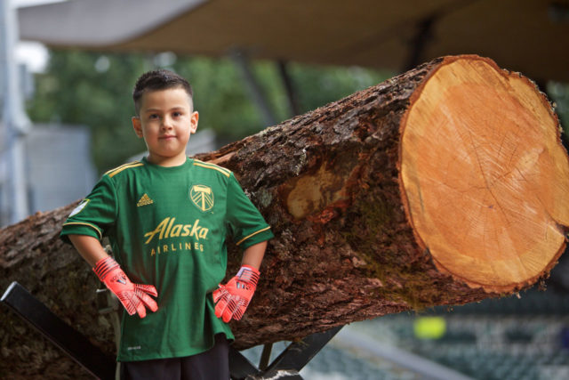 Les Portland Timbers recrutent un gardien de 5 ans atteint d'un cancer