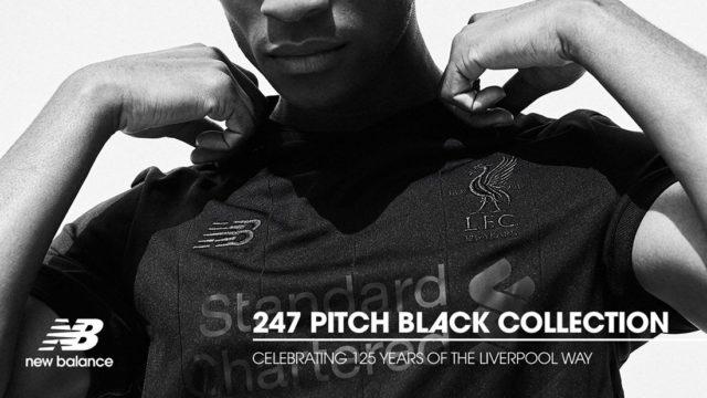 New Balance dévoile une collection noire pour les 125 ans de Liverpool