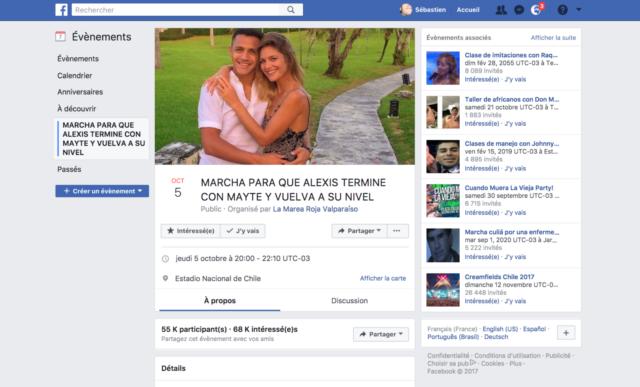 Au Chili, une marche s'organise pour qu'Alexis Sanchez quitte sa petite amie